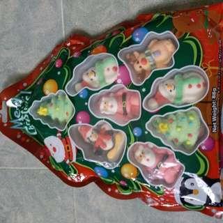 聖誕可愛造型棉花糖 25蚊一包45蚊兩包
