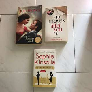 Jojo Moyes and Sophie Kinsella story Book