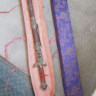 Vintage Sword with wooden casing