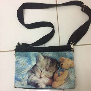 SLING BAG CAT / KUCING