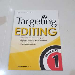 Targeting editing primary 1