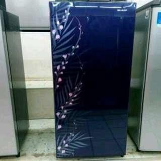 Sharp kulkas 1 pintu bisa cicilan tanpa CC