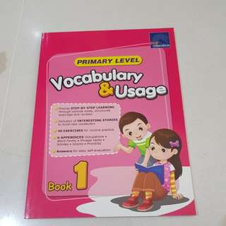 Vocabulary & usage book 1