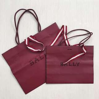 Take all 2pc bally paperbag+pita