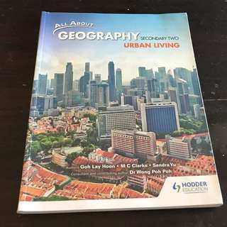All about Geography (secondary 2) Urban Living textbook