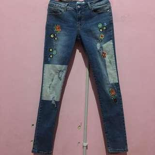 Celana jeans PULL&BEAR original