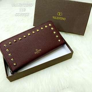 Valentino Rockstuds Purse Coffee