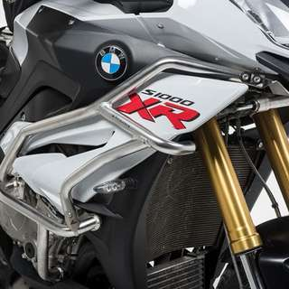 Touratech Singapore BMW S1000XR Upper Crash Bar Extension Silver Ready Stock !!!!!