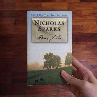 BOOKS Dear John by Nicholas Sparks