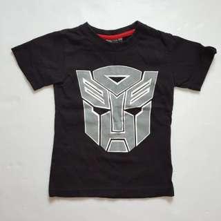 Transformer boy T-shirt