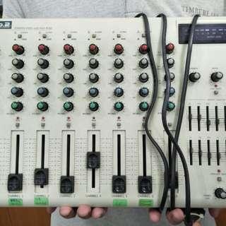 Pro 2 Audio Mixer set