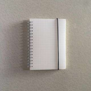 Muji-style Grid Notebook