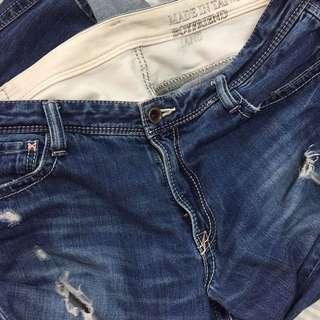 BRAPPERS 破洞牛仔褲 Boyfriend Jeans 👖