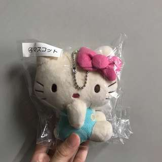 Authentic from Sanrio shop japan hello kitty plushie bag charm
