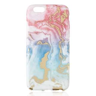 Soft Gold Foil Marble Phone Case (iPhone 6)