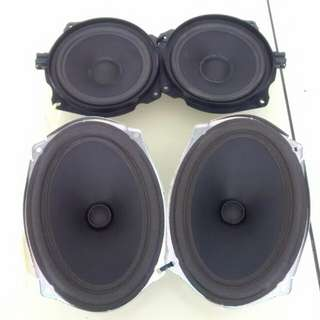 Mini cooper car speakers 2 pairs