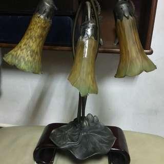 鐵藝 桌燈 老物件