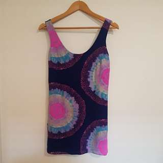 Forever New Silk Dress/Tunic Size 6 XS