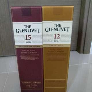 全新 Glenlivet 12 / 15 年