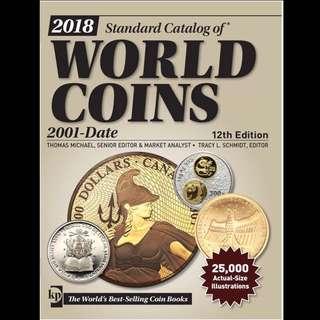 2018克勞斯世界硬幣目錄 2001-至今 電子書 PDF版