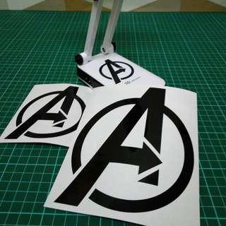 Decal {Avengers}-Laptop Decal/Laptop Sticker/Phone decal/Phone sticker/Car Sticker/Car Decal/Window Decal/Window Sticker