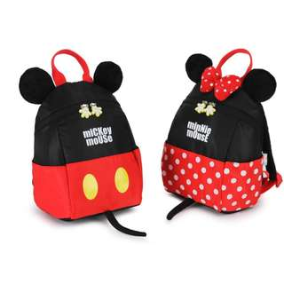 BMT324 - Mickey / Minnie Mouse Childcare / School Bag
