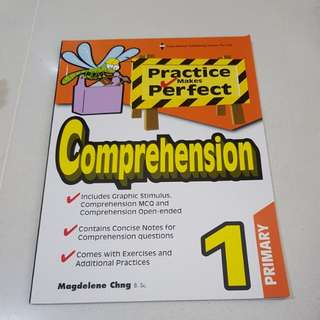 Practice makes perfect comprehension primary 1