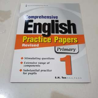 Comprehensive English practice papers primary 1