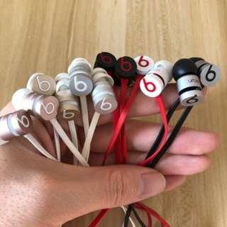 正品Beats urbeats2.0重低音入耳式耳机 面条耳机     1:避免纠纷,只当98新卖,放心购买。正品 ,裸机,无外包装,送全套配件。 2: (提示下:耳机本来是全新的,但是由于这批货是国外过海关扣押的货,不能直接流入市场,故部分耳机线上2位SN码被抹去了,为的是防止找苹果公司售后,所以做98新上卖,这些码官网都可以查的,耳机绝对百分百纯原装。 关于耳机有五个颜色:有黑灰色 黑红色 白红色 香槟金色,香槟粉色品质保证,放心购买。