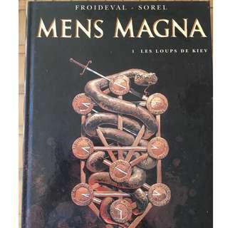 Comic book Mens Magna Les loups de Kiev
