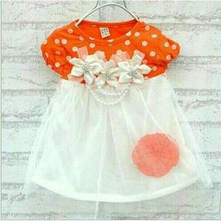 Fashion summer baby girls clothes