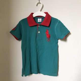 Preloved - Muspo Polo Shirt Tosca Size 3 Years