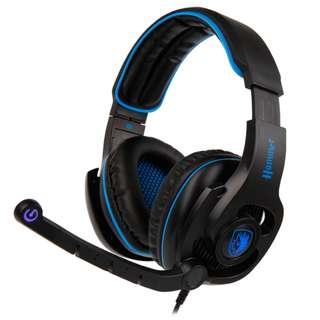 SADES Hammer Virtual 7.1 Gaming Headphone with mic