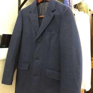 🚚 [降]深藍大衣