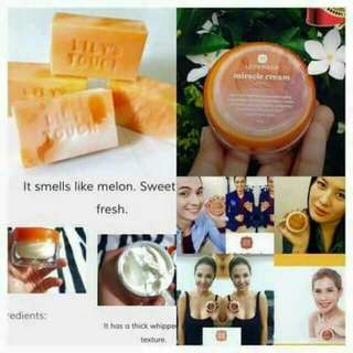 Lilys miracle cream,soap and astringent