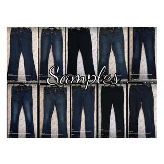 Ladies Denim Pants Premium