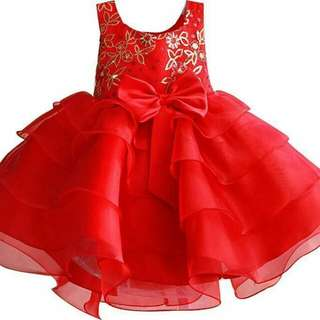 CNY Girl Dress