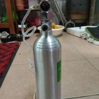 雅柏 CO2鋁瓶 1L