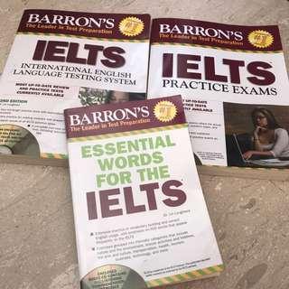 barron's ielts review pack. 2012 edition