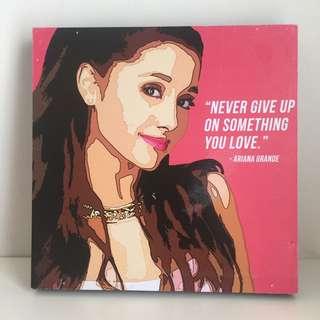 Lukisan Pajangan Ariana Grande