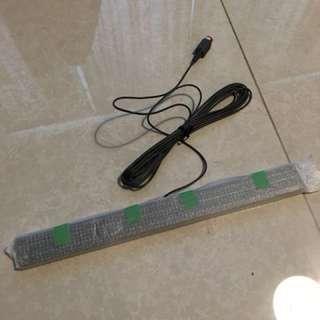Wii U remote sensor