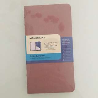 Moleskine Chapters Collection Dotted Journal