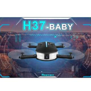 Best Present/Gift!! JJRC Drone Baby Elfie (Free Extra Battery) With Gravity Sensor Mode Quadcopter (Buy 2 and get further discount )