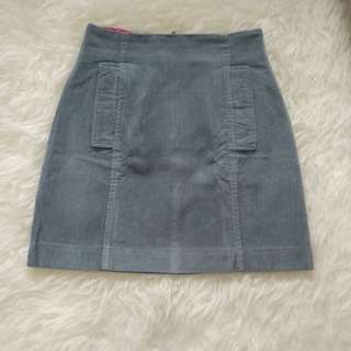 Mini skirt corduroy