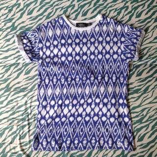 TOPMAN Printed Shirt S