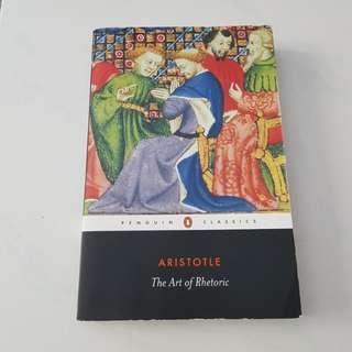 Aristole The Art of Rhetoric