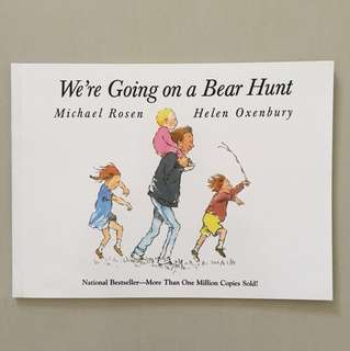 $5.90 We Are going on a Bear Hunt