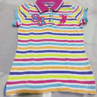 Original Polo t shirt for girl (size M 7-8)