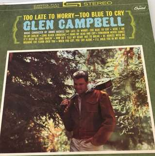 Vinyl Record Glen Campbell