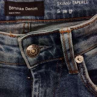 Celana Jeans BERSHKA Denim